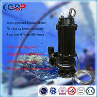WQ Series Submersible Sewage Pump 100WQ80-25-11