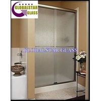 obsure shower room glass