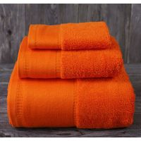 Luxury hotel embroidered bath towel 100% cotton thumbnail image