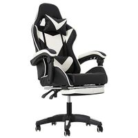 Comfortable Recling Gaming Chair With Footrest thumbnail image