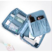 Stock Print Waterproof Travel Make Up Bag Outdoor Travel Toiletry Organizer with Removable Inner C