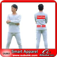 Best-Selling men fancy underwear with high-tech electric heating system battery heated clothing warm
