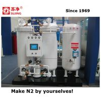 PSA Nitrogen Generator with N2 flow 100Nm3/h, Purity 99.99%