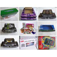 Custom Design PVC Window Cardboard Toy Packaging Box