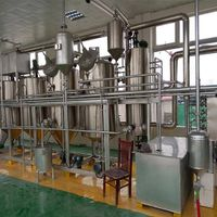 Batch peanut edible oil refinery equipment
