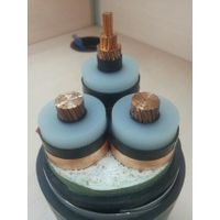 IEC standard Copper conductor 4x50mm2 XLPE/SWA/CTS 11KV medium voltage power cable,factory price