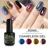 RONIKI Chameleon Gel,Nail Art Gel
