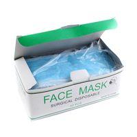 Factory wholesale disposable non-woven 3-ply face mask / non woven 3-ply surgical mask thumbnail image