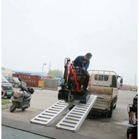 wheeled machines loading ramps supported to 28000lbs thumbnail image