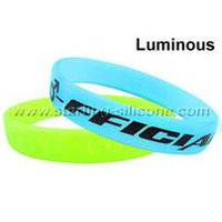 STARLING Silicone- Luminous Silicone Wristbands, Luminous Silicone Bracelets thumbnail image