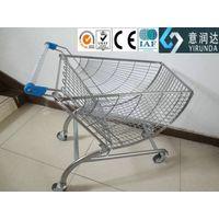 fan shaped shopping trolley