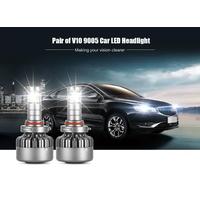 All in One Design V10 40W 4000lm Car H4 H13h7 H8 H9 H11 Hight/LED Low Beam Headlight Bulbs thumbnail image