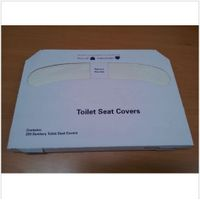Half Fold Disposable Toilet Seat Cover Paper, Essential for Public Restrooms, Antivirus