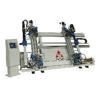 Vertical CNC Four-point Corner Crimping Machine