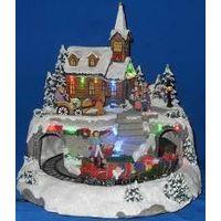 christmas led village