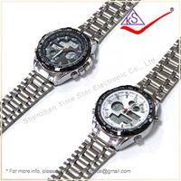 Newest Unique Promotion Stainless Steel Watches, Wholesale Sportwatch, Brand 30m Water Resistant Wat