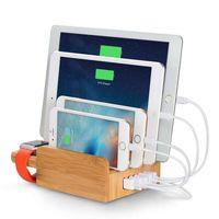 5-Port USB Charging Station for Smart Phones&Apple Watch&Gadget