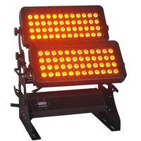 2014 New LED City Color 96*18W RGBWA+UV LED Wall Washer Light With Flightcase 10%off Free Shipping
