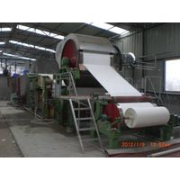 787Mm-2100Mm Small Type Tissue Paper Machine,1-6T/D, Waste Paper, Pure Wood Pulp thumbnail image