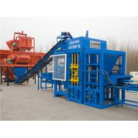 Curbstone Face Cement Concrete Hollow Cement Brick Block Force Making Machine South Africa thumbnail image