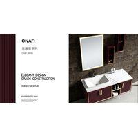 Modern Stylish Onafi Series Stainless Steel Bathroom Vanity Bathroom Cabinet