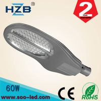 ip65 100lm/w high lumen 60w led street light