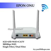 FTTH 1GE 1FE CATV WIFI ONU EPON GEPON