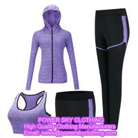 Yoga Jacket And Yoga Leggings Fitness Wear From Power Sky Clothing Manufacturers