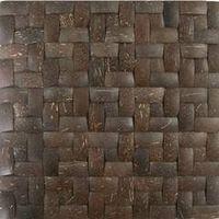 coconut mosaic wall tile mesh base