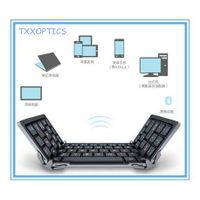 Foldable Bluetooth 3.0 Keyboard For iPad/iPhone/Tablet/Mobile thumbnail image