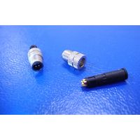 M5 4 PIN MALE WATERPROOF CONNECTOR FOR CABLE