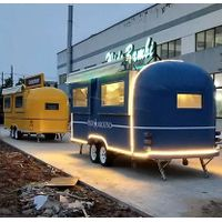 YG-TZ-66A Stainless Steel Coffee Trailer Pizza Truck Catering Food Trailers Mobile Food Truck thumbnail image