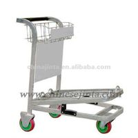 Luggage trolley for airport thumbnail image