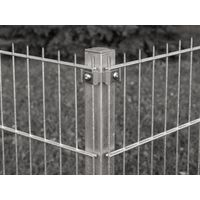 2D Panel Double wire welded panel fence green color metal fence factory thumbnail image