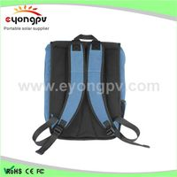 New design solar bag waterproof custom outdoor backpack