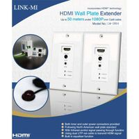 LINK-MI High quality latest support of 1080P display one transmitter and one receiver 50m HDMI Wall