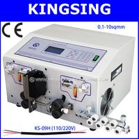 Wire Cutting Stripping Machine KS-09H(220/110V),Suitable For 0.1-10sqmm Wire+Free Shipping By DHL Ai
