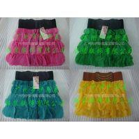 Ladies Skirts, Sexy Stretch Mini Skirt Seamless Gauze Skirts,Chiffon Skirts,casual dress thumbnail image