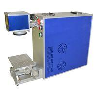 Mini portable fiber laser marking mahcine 20w 30w metal laser printer