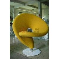 Question mark chair The extravagant shape of a question mark, has a continuous curved structure sup thumbnail image