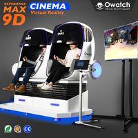 VR technology robot shape 9d cinema simulator interactive motion 9d vr 9d cine virtual reality chair