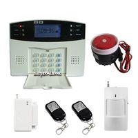 HOMSECUR LCD Wireless GSM Autodial Home Office Burglar Intruder Alarm System