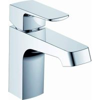 Square modern design hot cold basin faucet