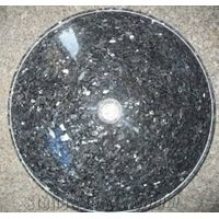 Blue Pearl Granite Round Sinks, Vessel Sinks, Wash Bowls,Blue Sinks&Basins