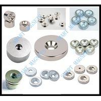 permanent Neodymium countersink disc magnet