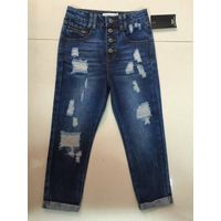 Girls jeans girls denim pants high quality