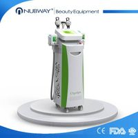 Best selling multifunctional 5 handles strong powerful 1800W cryolipolysis machine from China manufa