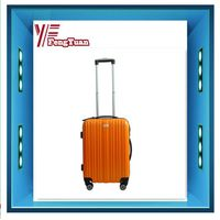 2013 coloful hard abs+pc suitcase/colorful hard luggage/carry-on luggage/hard side abs suitcase