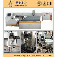 Granite water jet cutting machine CNC Stone AY1313S 3-axis cutting head