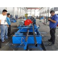 Pallet rack cross beam roll forming machine